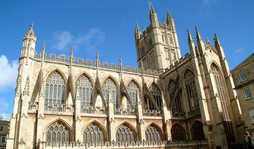 Image: Bath Abbey, Bath Tourism Plus
