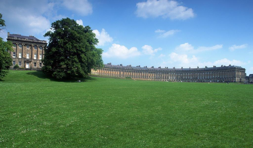 Image: The Royal Crescent, Bath Tourism Plus