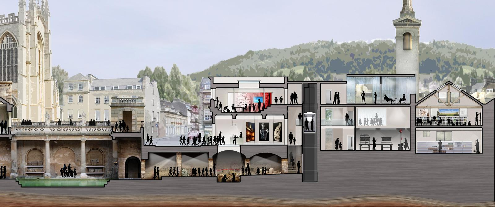 Image: Artist's impression of the new Archway Centre