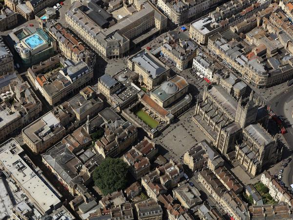 Image: Bath from above