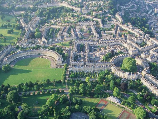 Image: View over Bath