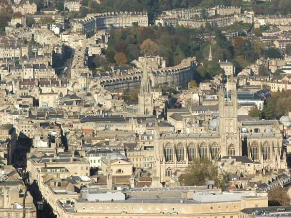 Image: View of Bath city centre