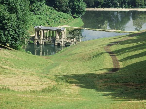 Image: View of Prior Park Landscape Garden, Bath Tourism Plus