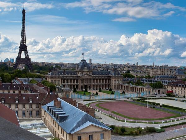 Image: view of Paris from UNESCO World Heritage Centre