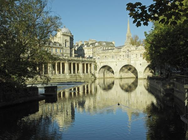 Image: Pulteney Weir, Bath Tourism Plus